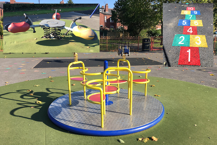 Romiley Park Play Area improvements
